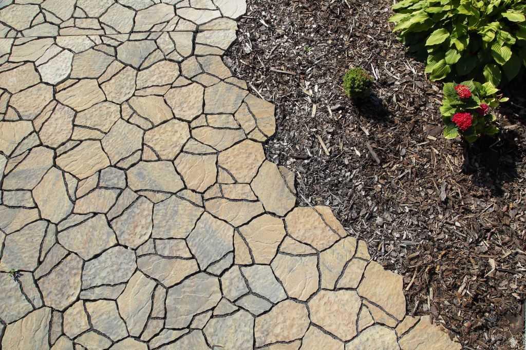 Betonová dlažba  BEST-SOLITERA, barva colormix etna - imitace přírodního kamene