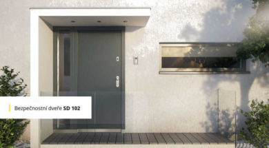 Bezpečnostní dveře SD 102