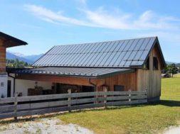 Falcovaná střecha – pozinkovaná falcovaná krytina s povrchvoou úpravou