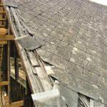 Renovace eternitové střechy – čištění, nátěr eternitové střechy a výměna poškozených částí