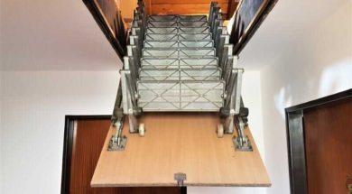 Půdní schody stahovací