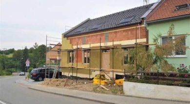 Zateplení fasády je stavební úprava