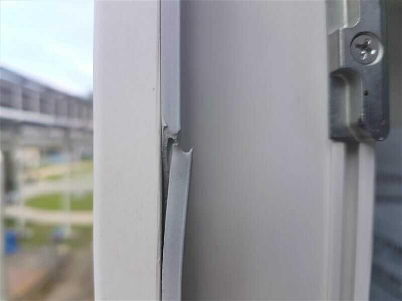 Zateplení oken - oprava těsnění okna