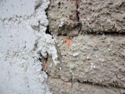Cementový špric – detial