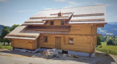 Kolaudace dokončeného domu