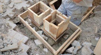 Betonování – prokládaný beton
