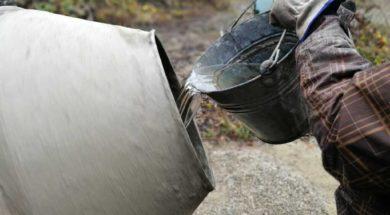 Jak namíchat cementový špric