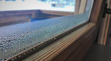 Vlhkost v domě po zateplení a výměně oken