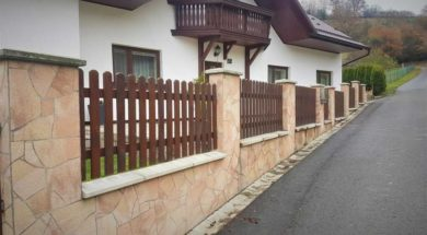 Výška plotu pod 2 metry
