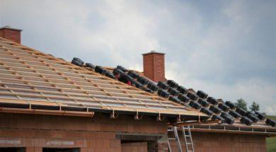 Laťování střechy – střešní taška