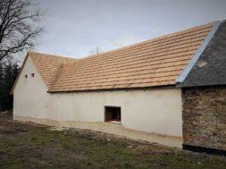 Šindelová střecha – valašský šindel