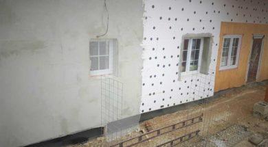 Zateplení okolo oken