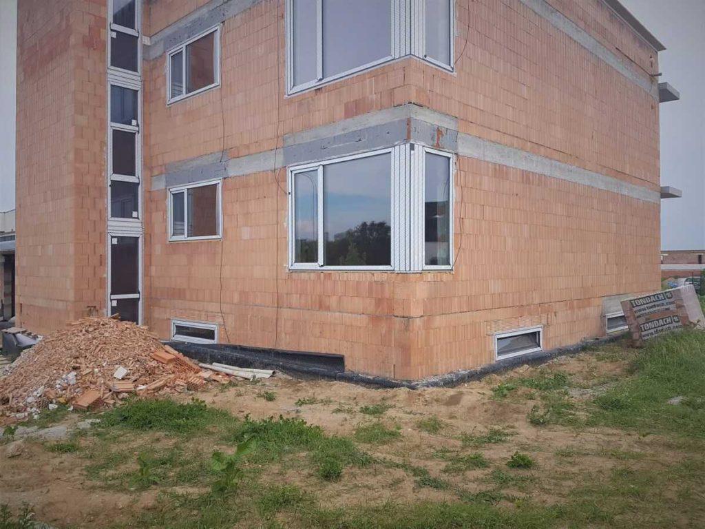 Kolaudace domu bez fasády