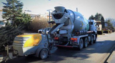 Kolik váží kubík betonu – betonmix