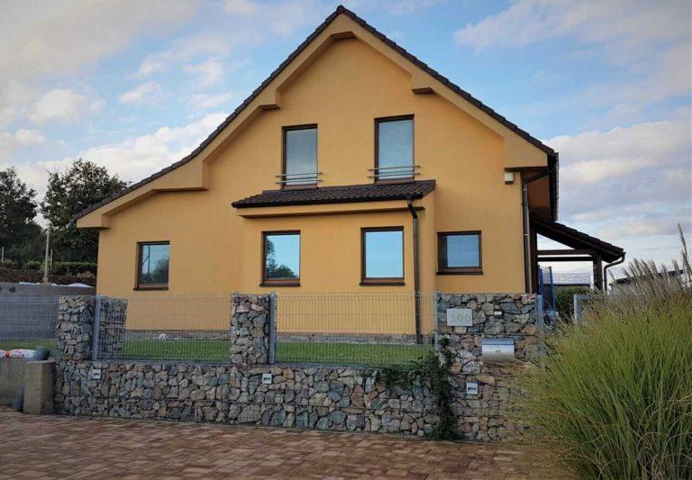 Ochranná pásma se vztahují i na stavbu rodinného domu.