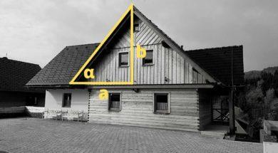 Výpočet sklonu střechy