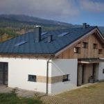 hřeben střechy