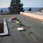 Rekonstrukce ploché střechy – zateplení + hydroizolace