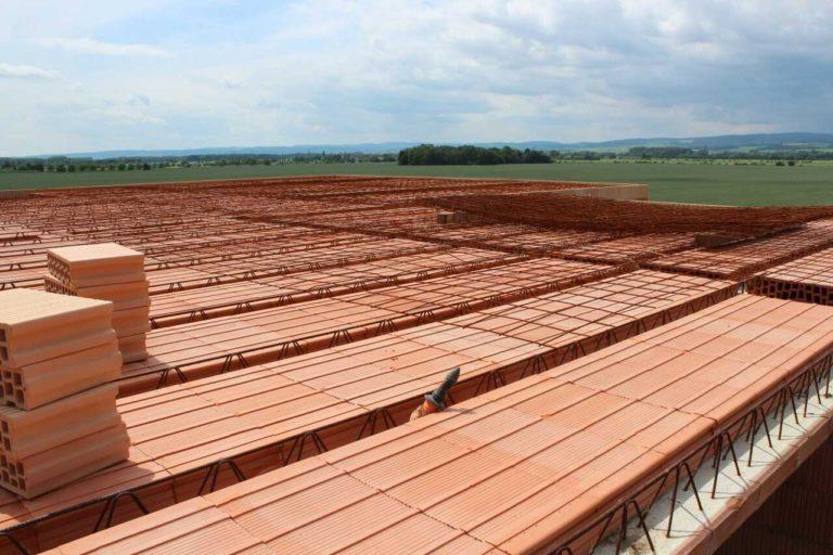 Montovaný betonvoý strop - KARI síť