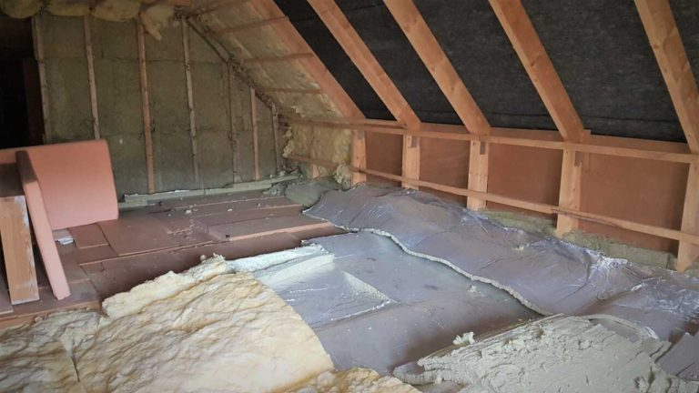Obytné podkroví by mělo být dostatečně tepelně izolované.