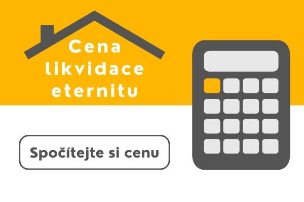 Kalkulace - likvidace eternitu